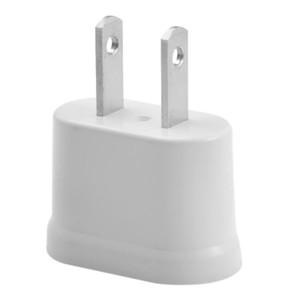 WN EUA Padrão DA UE Adaptador De Alimentação De Parede 2 Pés Plug Mini Carregador De Energia AC Plug Mundial de Viagem Adaptador Conversor de Tomada de ALTA QUALIDADE + B