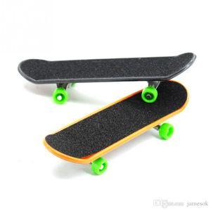 Kinder Spielzeug Animation Nachbar Modell Finger Bord Lkw Mini Legierung ABS Skateboard Spielen Spielzeug Finger Skateboards c034