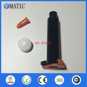 Wholesale 2,500 sets   lot 3CC UV black adhesive syringe barrel liner, piston, cap, hat