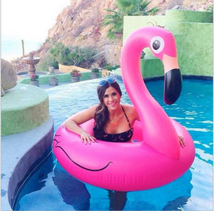 120cm Inflatable Floats giant Swan Swimming Pool Ride-on mattress Flamingo Pool Toys for adult swimming ring pool float raft water chair