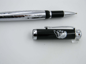 metal new gift office Beethoven Pattern design Classic characters Silvery relief Avatar hot Rollerball Pen