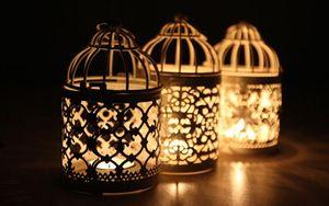 San Valentino Necessità romantica Decorative Lanterna marocchina Votive Candle Holder Hanging Lantern Candlesticks vintage CALDO