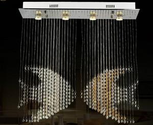 Novetly Кристалл освещение лампы номер Современный Новый Люстра Luster Dinning висит люстра LLFA Dseju