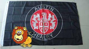 bandiera austin healey, dimensioni 90X150CM, 100% polyster, bintang 100% poliestere 90 * 150cm