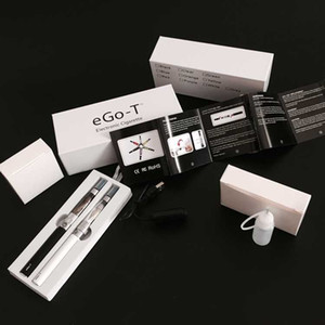 Double eGo CE4 Starter Kit E Cigarrillo 650 900 1100mAh Ego T batería CE4 Clearomizer E CIG Establecer caja de regalo