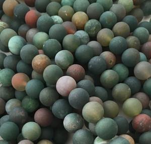 Матовый Индийский Агат бисер, 8 мм 10 мм круглый бисер, Оптовая драгоценный камень бисер, 15,5 дюйма, полный Стренги, отверстие 1 мм