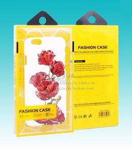 Toptan Fiyat Özelleştirilmiş plastik cep telefonu kılıfı ambalaj / cep telefonu kılıfı ambalaj kutusu iPhone 6 s / 7/7 artı Not 7