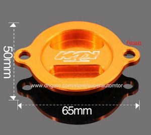 Brand New Orange Motorrad CNC Motorölfilterdeckel für KTM Duke 125 200 390