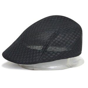 للجنسين الصيف قبعة الجوف خارج تنفس شبكة كاب gorras planas شقة موزع الصحف القبعات قبعات خمر قبعة