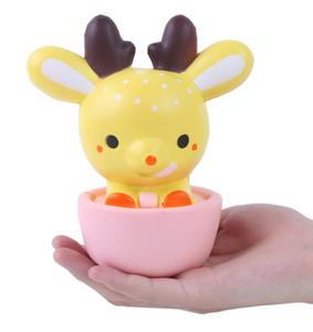 15 CM Squishy Jumbo Kawaii Cup Creme De Veado Perfumado Muito Lento Rising Decompression Squeeze Brinquedos Para Crianças Presente Da Boneca Divertido