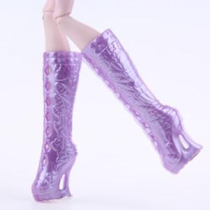 UCanaan 1 Par Sapatos se encaixam Sapatos de Boneca do Monstro Escolheram Você Como Estilo boneca sapatos para Monster Hight Boneca Acessórios DIY BJD