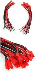Conexión de red Hot Computer Cables Conectores 150mm JST Conector Plug Cable Male + Female para RC Battery