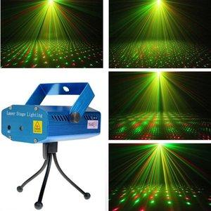 1PC Портативный мини лазерный Освещение сцены (красный + зеленый цвет) Все Sky Star Освещение для рождественской вечеринки Главная Свадебный клуб ДИСКО Projector