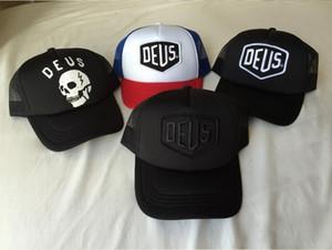 Deus Ex Machina Baylands дальнобойщик Snapback шапки черные мотоциклы сетка Бейсбол шляпа Дворец спорта Дрейк 6 Бог молиться Ovo октябрь Cap Casquette