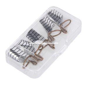 5pcs unghie riutilizzabili unghie gel uv smalto per unghie guida di estensione strumento francese acrilico suggerimenti nail art
