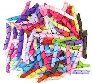 """196 الألوان المتاحة! Hipgirl Boutique Grosgrain Korker Ribbon for Hair Bows، قميص الشريط، حاملي المهر (2.5 """"الصلبة) (100-3000pcs)"""