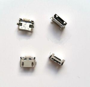 Envío gratis 100 unids conector de toma de corriente Micro usb Para lenovo A656 A788T A388T A370 S390 S930 A3000-H puerto de conexión de carga
