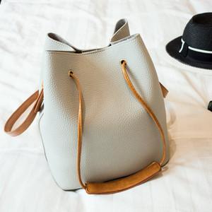 2017 Fashion Casual Nappa Donne Litchi PU donne in pelle Top-handle singola borsa a tracolla donne Crossbody Bag