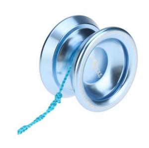 New Magic Yoyo T8 Lega di alluminio Metallo Yoyo Professional 8 Sfere KK Cuscinetto con stringa Giocattoli per bambini Yoyo Lago Blu Colori oro