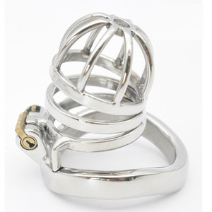 Couper, Stainless Steel Stealth Lock Male Chastity Device,Cock Cage,Virginity Lock,Penis Lock,Cock Ring,Chastity Belt CPA275