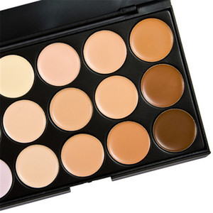 Venta al por mayor 15 colores Nueva Cara Corrector paleta neutral 15 herramientas del color del maquillaje de la cara de camuflaje Fundación Cuerpo
