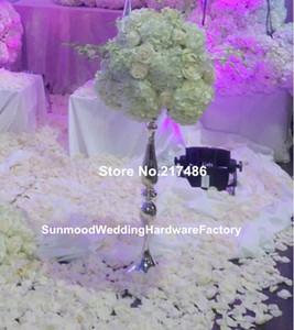 Moda gümüş ağacı zihinsel düğün masa dekorasyon düğün centerpieces