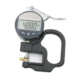 Freeshipping 0.001mm Electronic Thickness Gauge 10mm Digital Micrometer Thickness Meter Micrometro Thickness Tester With RS232 Data Output