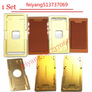 1set Para iphone 5 5s 5c 6 6s 6p 6SP 7 7p Além disso quadro com moldes de precisão molde de alumínio Para OCA Máquina de estratificação Ferramentas de reparo