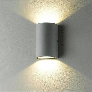10W LED 벽 램프 실내 실외 방수 COB LED 벽 조명 최대 조명 엔지니어링 베란다 가든 램프 IP65 조명