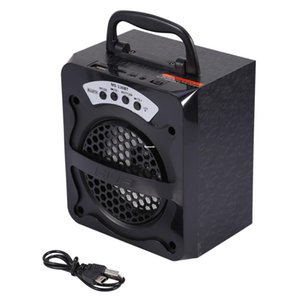 Freeshipping New Outdoor Portable Wireless Bluetooth Speaker Super Bass with USB TF AUX FM Radio