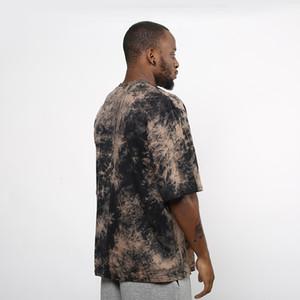2017 جديد 3d تصميم الأزياء الجديدة الهيب هوب عادي زائد قصيرة الأكمام تي شيرت بلايز رجالي ماركة الملابس الشارع الشهير الصيف الرجال القميص