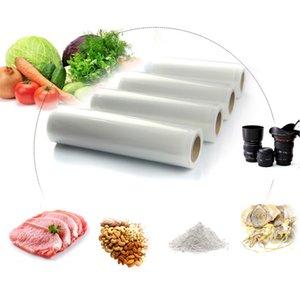 Food Fresh Saver Bag Five Sizes Vacuum Heat Sealer Rolls Food Storage Bags Saran Wrapper Flim Kitchen Packaging Tool