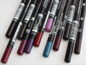 ¡envío libre! nuevo maquillaje LIP EYE LINER PENCIL Cosmetic EYE / LIP LINER PENCIL 1.5G colores mezclados (24pcs / lot)