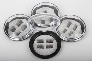 ciglia Brand New Eye Lashes 3D visone riutilizzabili falsi Magnet Ciglia Extension estensioni 3d ciglia magnetici da trucco DHL