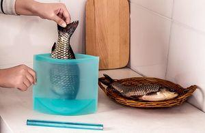 100pcs Großhandel Wiederverwendbare Silikon-Vakuum-Food-Sealer Taschen Wraps Kühlschrank Lebensmittel Lagerbehälter Kühlschrank Tasche Küche Farbige Druckverschlussbeutel