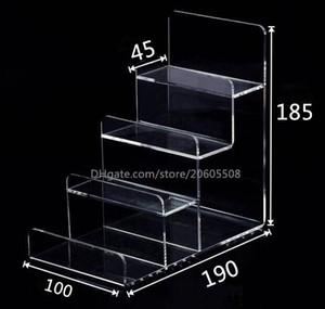 2 adet İşlevli Akrilik Cep Telefonu U Disk Takı Ekran Standı Tutucu Dijital Ürünler Çanta Cüzdan Raf Vitrin Bilezikler Ekran