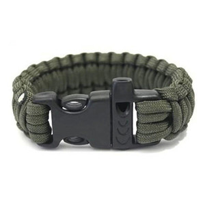 Freies DHL Outdoor Camping Wandern Survival Armband 13 Farben Selbstrettung Paracord Parachute Cord Armbänder Überlebensarmband Camping Reisen