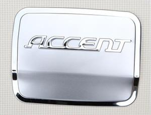 Couvercle de réservoir de carburant Hyundai Accent Elantra Autocollants de couvercle de réservoir d'huile en acier inoxydable