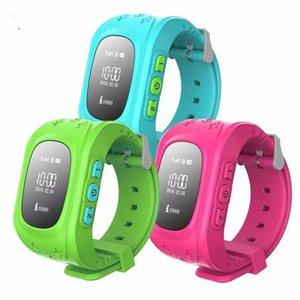 Nuovo Q50 GPS Smart Kid sicuro intelligente Guarda Locator Tracker Finder per il bambino Anti perso Baby Monitor Son Orologio da polso