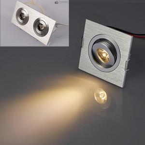Мини-светодиодный потолочный светильник downlight 3W 3 * W Dimmable LED cabinet light крытый открытый мини-светодиодный светильник dimmable AC110 / 220V