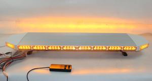 Высокая интенсивность 120см DC12 / 24V 88W LED аварийный lightbar полиция скорая пожарная машина предупреждение lightbar, строб lightbar, 18flash, водонепроницаемый
