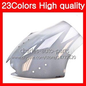 100% nouveau pare-brise de moto pour YAMAHA ZG1400 08 09 10 11 ZG-1400 08-11 ZG 1400 2008 2009 2010 2011 Chrome Noir Clear Smoke
