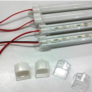 PC 커버 5630 스트립 빛 50cm DC 12V SMD 5730 LED 하드 강성 스트립 바 빛 알루미늄 쉘
