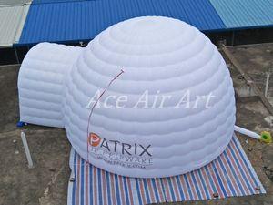 La alta calidad de 8m x 6m gigante L w x4m cúpula mirador Carpa H inflable con logo Venta