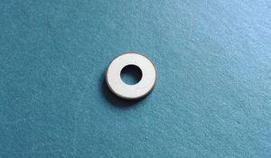 Chip piezoelétrico 12 * 5 * 2.03-PZT8 Piezos Anel Piezoceramic Cerâmica Ultra-sônica Transdutores De Limpeza Piezo Purificador De Pele