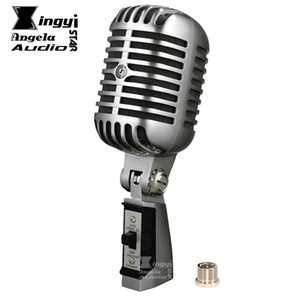 Profesyonel Deluxe Retro Vokal Konuşma Vintage Rock Klasik Kablolu Mikrofon Dinamik Mic Mike Microfonoe Microfono Mikrofon Karaoke Mikser
