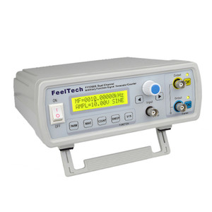 Freeshipping High Precision Digital DDS Function Signal Source Generator Arbitrary Waveform Pulse Frequency Meter 12Bits 24MHz Dual-channel