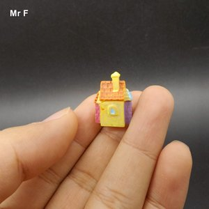 Micro Villa House Decor DIY Ornaments Accessories Props Teaching Aids Resin Model Toy Kid Teaching Aids Educational