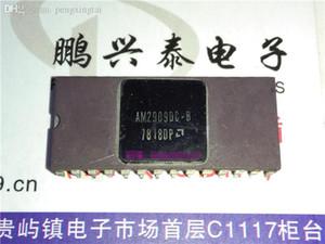 AM2909DC-B, secuenciador de microprograma de 4 bits, paquete de cerámica de doble inmersión de 28 pines en línea. AM2909. Colección Vintage Microelectronics