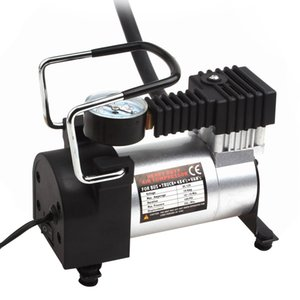 SUV / Sedan / MPV CEC_011 için üç Lansı 12V 35L / Min 150PSI Taşınabilir Araç Dijital Görüntü Fonksiyonlu Elektrikli Şişirme Pompası
